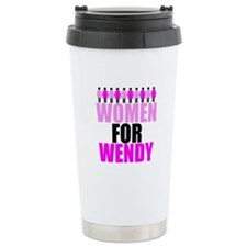 Women for Wendy Davis Travel Mug