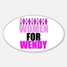Women for Wendy Davis Decal