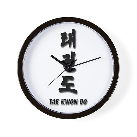 """DMA Tae Kwon Do"" Wall Clock"