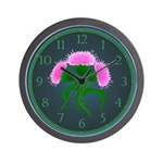 Scotch Thistle Wall Clock