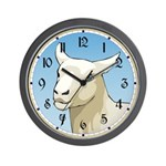 White Ewe Wall Clock