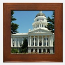 California State Capitol Building Sacr Framed Tile