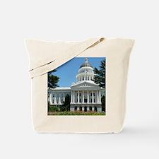 California State Capitol Building Sacrame Tote Bag