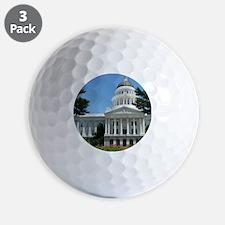 California State Capitol Building Sacra Golf Ball