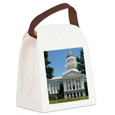 California State Capitol Building Canvas Lunch Bag