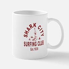 Vintage Shark City Surfing Club Mug