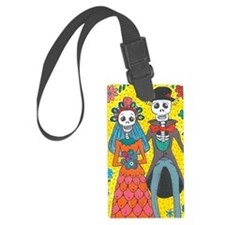 Cute Day of the dead Luggage Tag