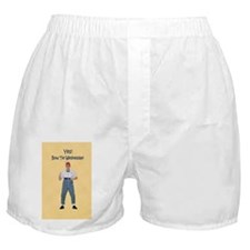 A Geeky Day Boxer Shorts