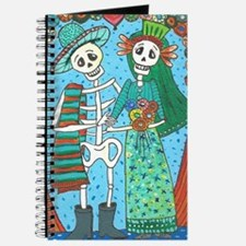 Day of the Dead Wedding Couple Journal