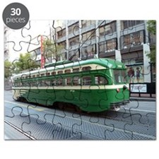 San Francisco Street Car Photo Transportati Puzzle