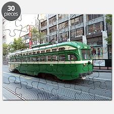 San Francisco Street Car Photo Transportati Puzzle