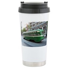 San Francisco Street Car Photo  Travel Mug