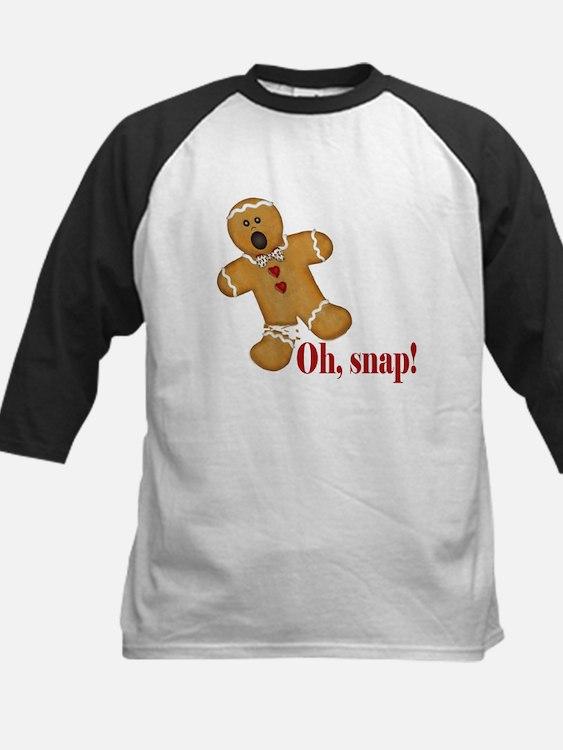 Oh Snap! Gingerbread Man Baseball Jersey