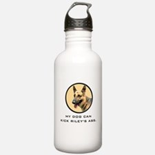 My Dog Can Kick Riley's Ass. Water Bottle