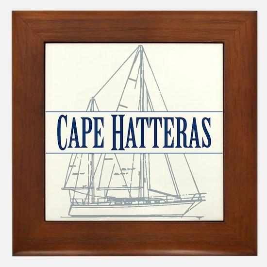 Cape Hatteras - Framed Tile