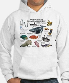 Animals of the Great Barrier Reef Hoodie