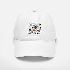 Animals of the Great Barrier Reef Baseball Baseball Cap
