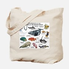 Animals of the Great Barrier Reef Tote Bag