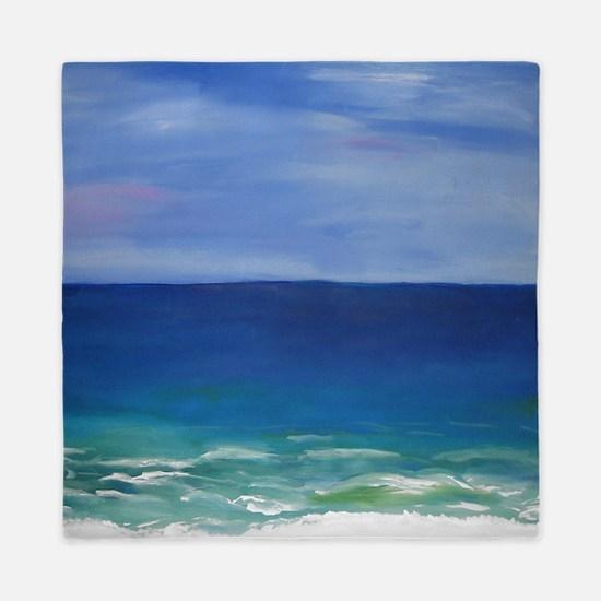 Beautiful Beach Queen Duvet