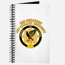 DUI - 3rd Squadron - 1st Cavalry Regiment With Tex