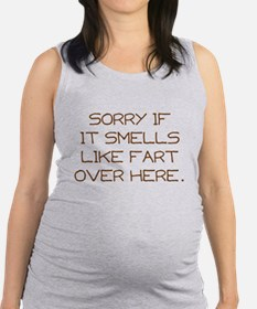Sorry Maternity Tank Top