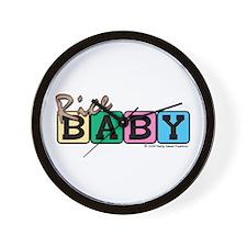 Rice Baby Wall Clock