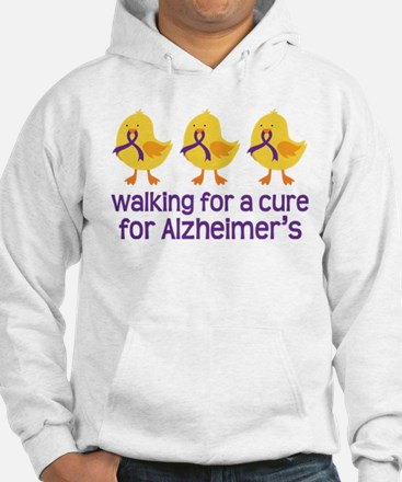 Alzheimers Walk For A Cure Hoodie