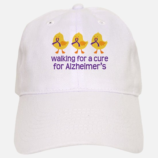 Alzheimers Walk For A Cure Baseball Baseball Cap