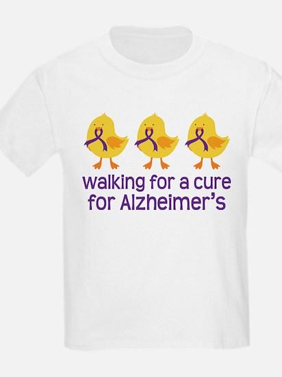 Alzheimers Walk For A Cure T-Shirt