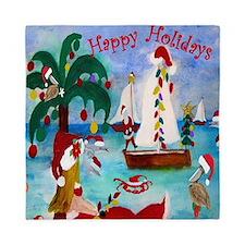 Seaside Christmas Queen Duvet