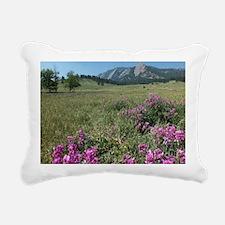 Chautauqua Park Boulder  Rectangular Canvas Pillow