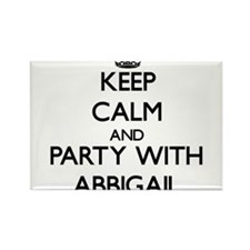 Keep Calm and Party with Abbigail Magnets