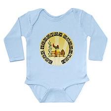 Good Morning Sunshine Long Sleeve Infant Bodysuit