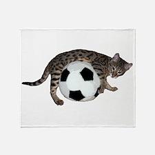 Cat Leap - Throw Blanket