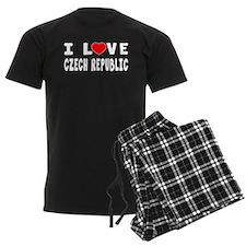 I Love Czech Republic Pajamas
