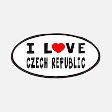 I Love Czech Republic Patches