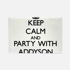 Keep Calm and Party with Addyson Magnets