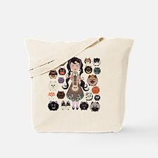 Pom-Pom and More Poms Tote Bag