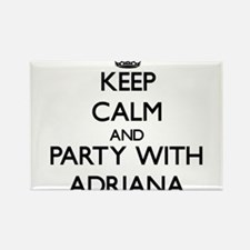 Keep Calm and Party with Adriana Magnets