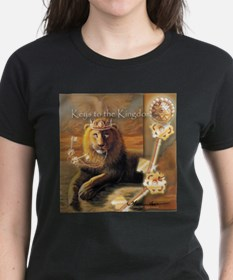 """Keys to the Kingdom"" Fine Art Lion Tee"