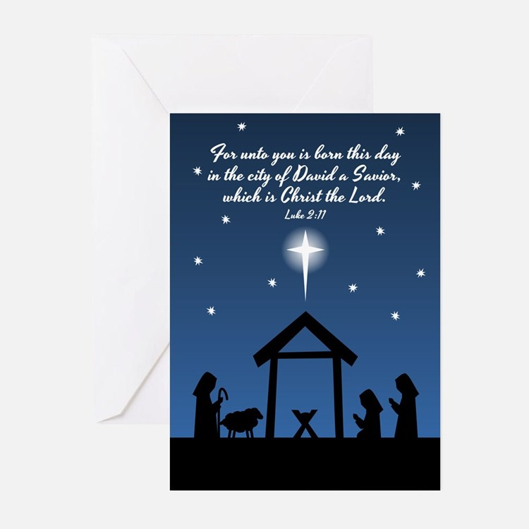 Christmas Scripture Greeting Cards (Pk Of 20)