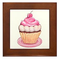 Cupcakes Framed Tile