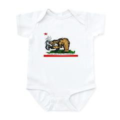 CALIFORNIA BRING DAT BEAT BAC Infant Bodysuit