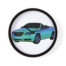 Chrysler 200 Convertible Wall Clock