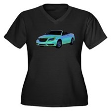 Chrysler 200 Convertible Plus Size T-Shirt
