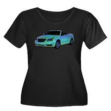 Chrysler 200 Convertible Plus Size T-Shirt