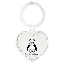 Personalized Panda Bear Keychains