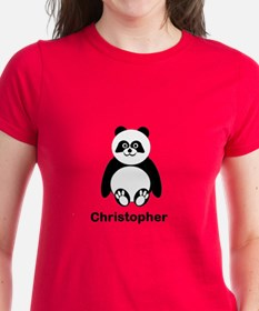 Personalized Panda Bear T-Shirt