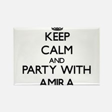 Keep Calm and Party with Amira Magnets