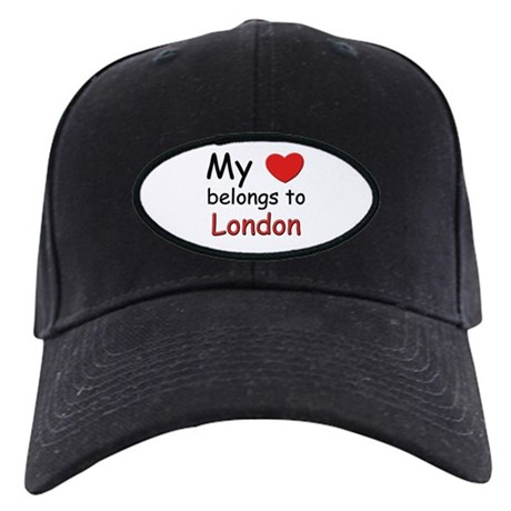My heart belongs to london Black Cap